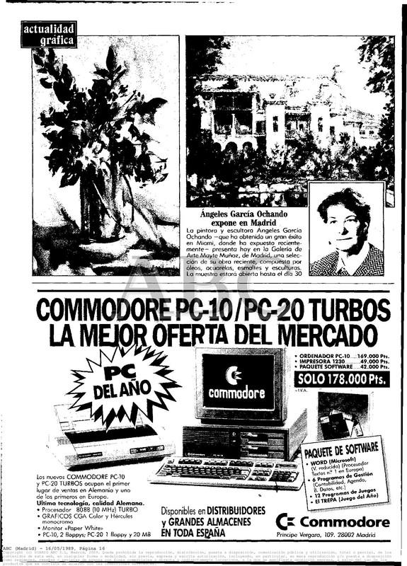 Colección publicidad Commodore – 15