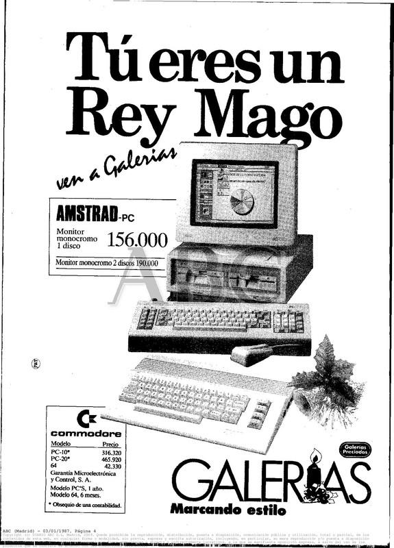 Colección publicidad Commodore – 23
