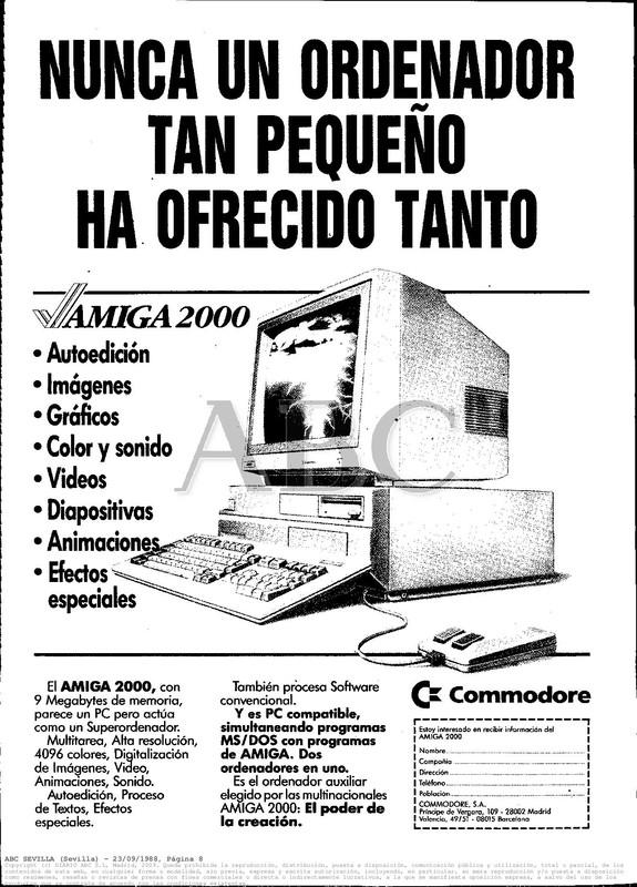 Colección publicidad Commodore – 24