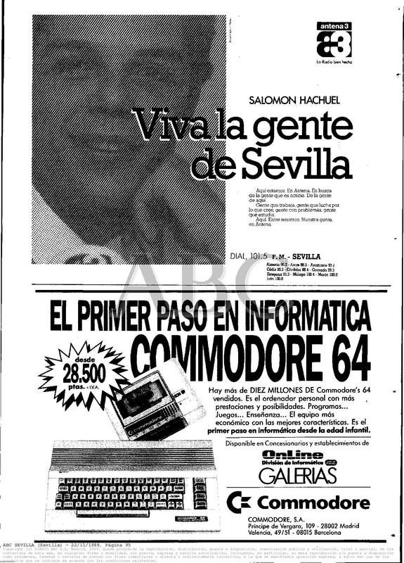 Colección publicidad Commodore – 25