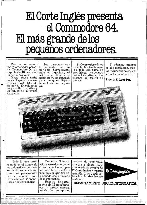 Colección publicidad Commodore – 26