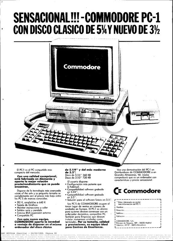 Colección publicidad Commodore – 29