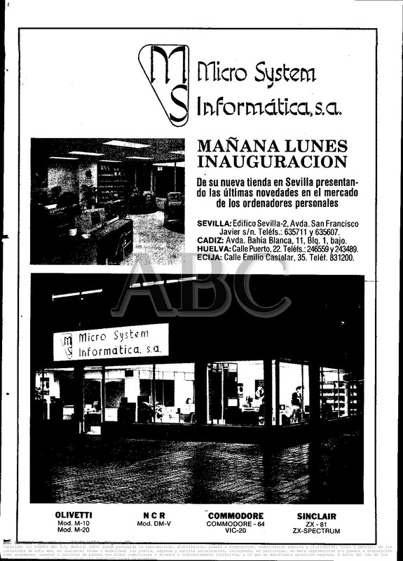 Colección publicidad Commodore – 30
