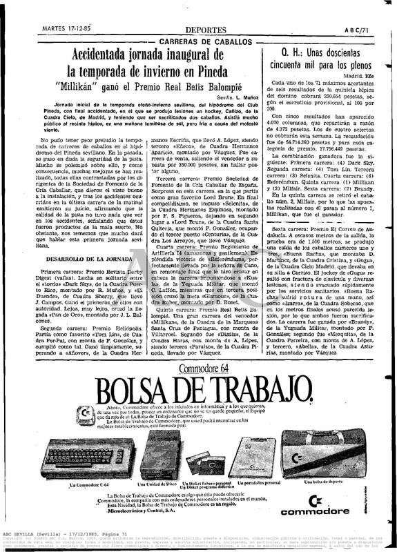 Colección publicidad Commodore – 31