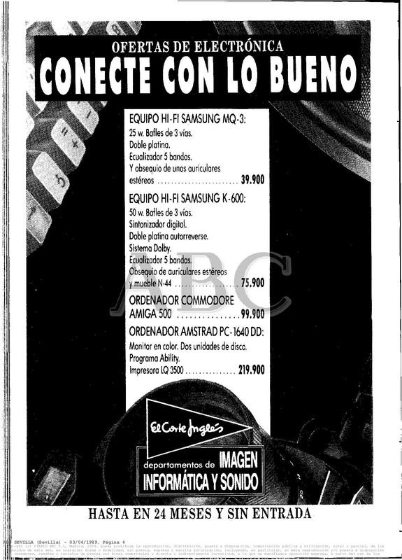 Colección publicidad Commodore – 33
