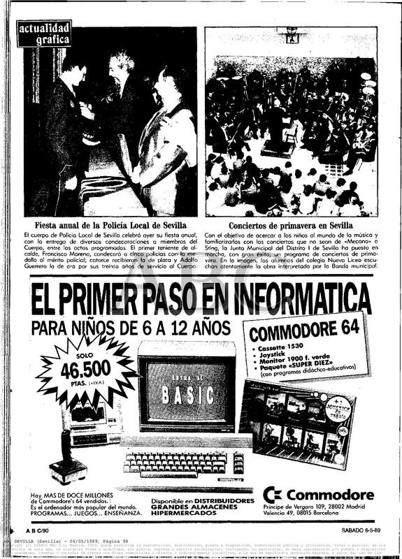 Colección publicidad Commodore – 35