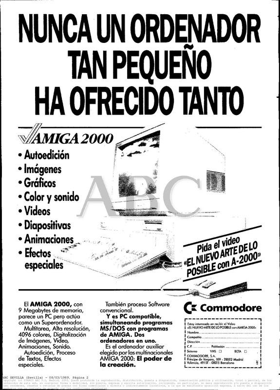 Colección publicidad Commodore – 43