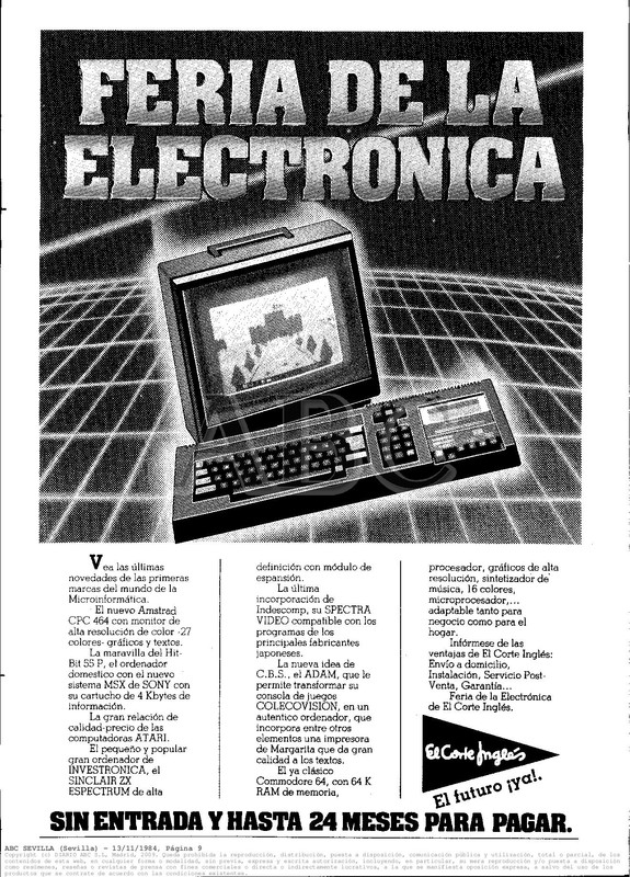 Colección publicidad Commodore – 49