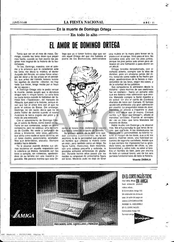 Colección publicidad Commodore – 55