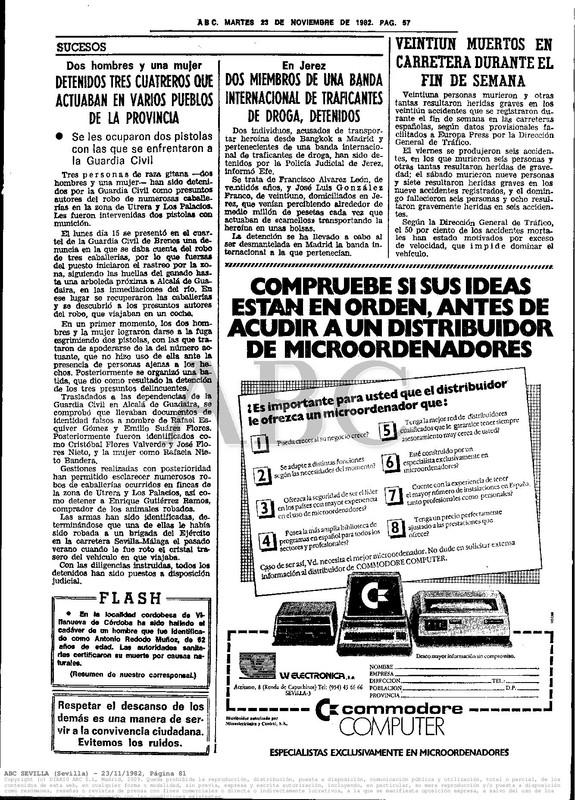 Colección publicidad Commodore – 57