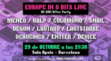 europe in 8bits concert