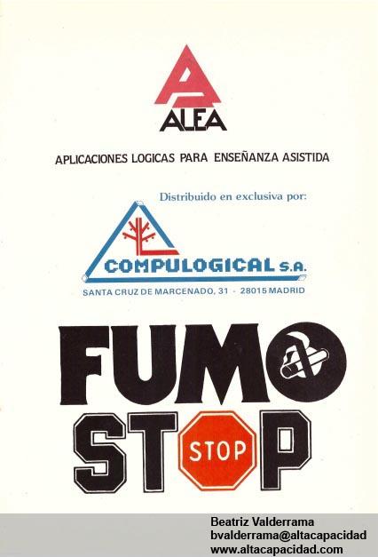 Manual Fumastop de: Beatriz Valderrama bvalderrama@altacapacidad www.altacapacidad.com
