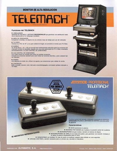 Anuncio Telemach micromania segunda epoca 8