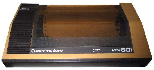 Commodore MPS-801