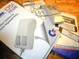 Pack Mouse 1351 Commodore