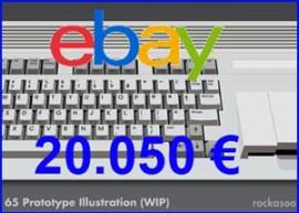 Commodore-C65-subasta – presentación