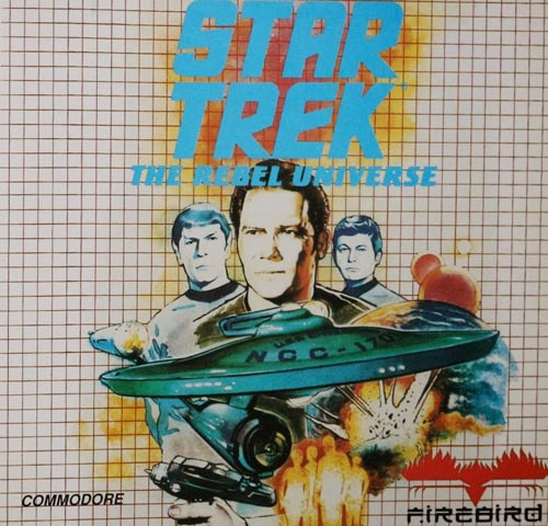 Caratula Star Trek Commodore64