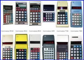 Colección Calculadoras Commodore – p