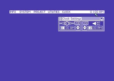 Final Cartridge III – Configuración Reloj