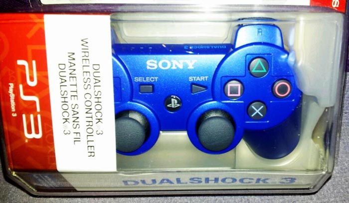 Mando Ps3 azul commodore