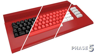 teclado commodore colores – 2