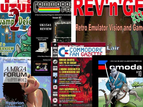 Revistas commodore Actuales