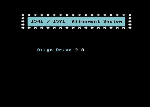 Software alineación 1541 - 2
