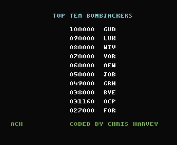 @Commodorux – Bombjack