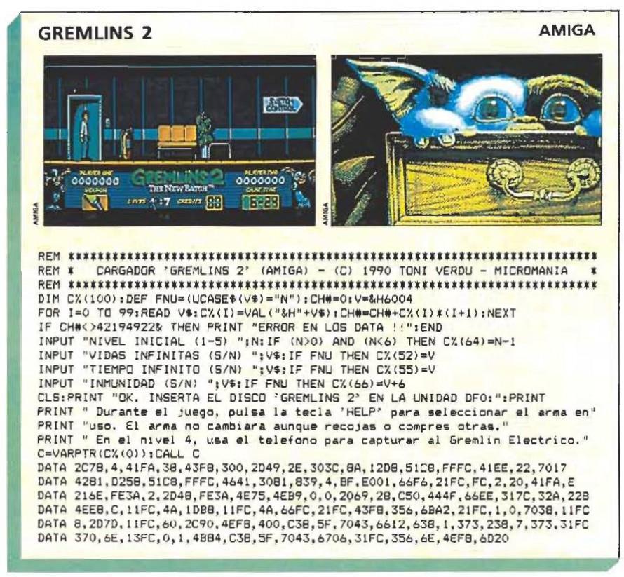 Gremlins 2  – Amiga
