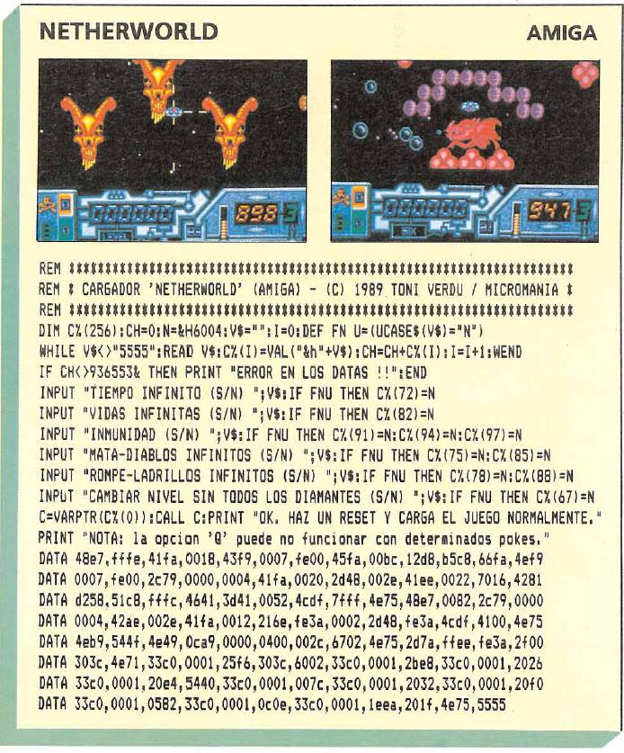 Netherworld – Amiga