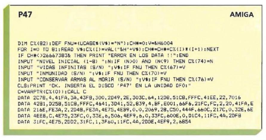 P47  – Amiga
