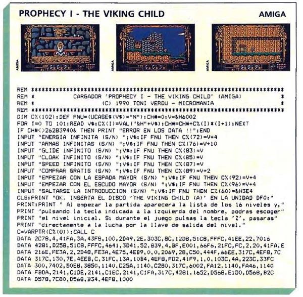 Prophecy i – The viking child – Amiga