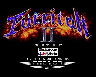 Turrican II – Amiga – 1