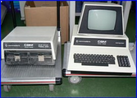 restauración commodore pet