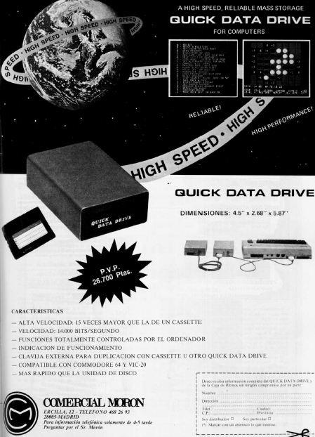 Anuncio Quick Data Drive - 01