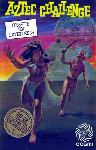Aztec Challenge - Commodore 64