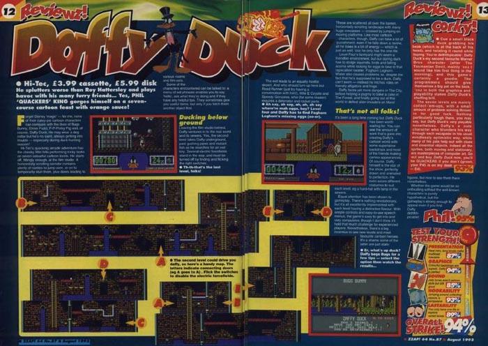 Daffy duck - zzap