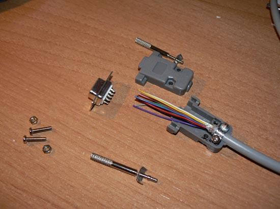 Cable null-modem Serial Amiga  (3)