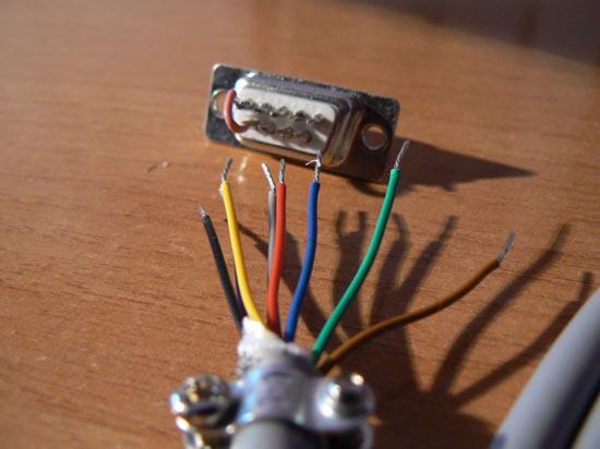 Cable null-modem Serial Amiga  (5)