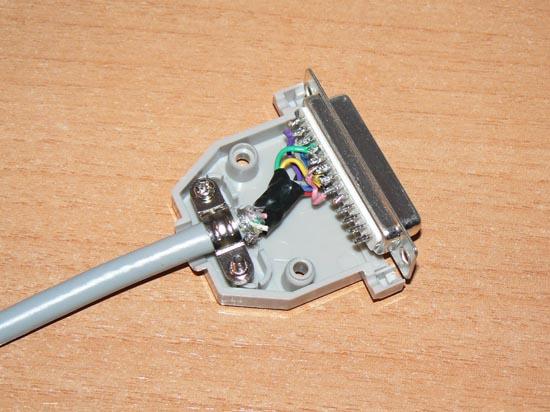 Cable null-modem Serial Amiga  (9)
