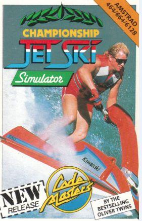 Championship Jet Ski Simulator - C64