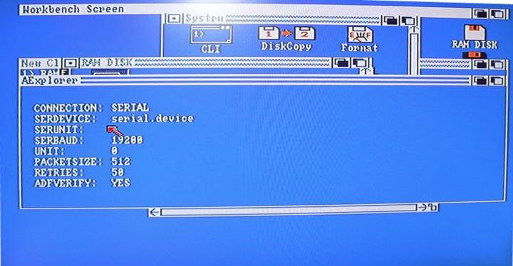 Pantalla Aexplorer en Amiga – 2