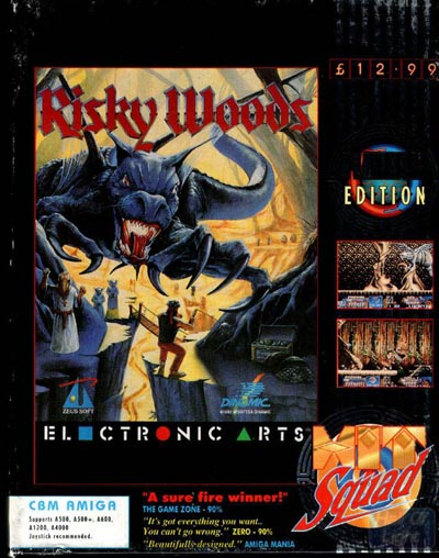 Risky Woods - Amiga