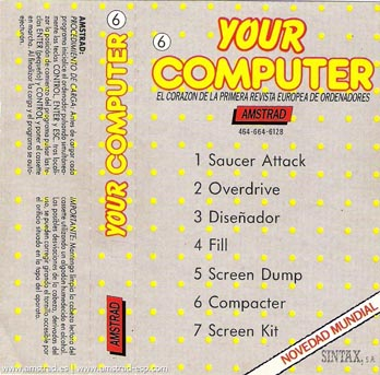 Your Computer Amstrad (6)