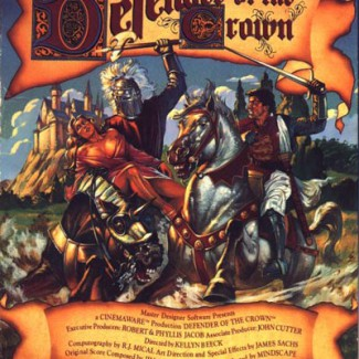 Defender Of The Crown – Commodore 64