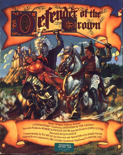 Defender Of The Crown - Commodore 64