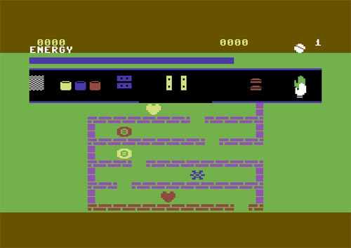 Captura pantalla Laberintos lógicos C64