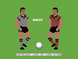 Fútbol – Load´n´run – Commodore (2)