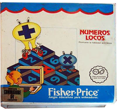 Numeros locos – Fisher Price – Commodore 64