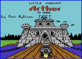 Presentación Little Knight Arthur C64